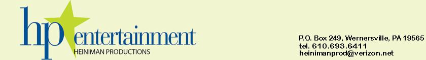 HP Entertainment's Company logo